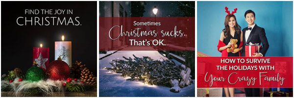 Free Christmas Social Posters
