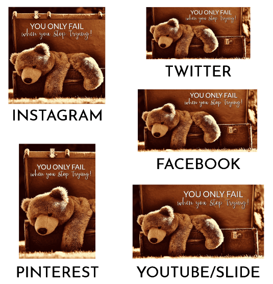 Social Poster in 5 Sizes